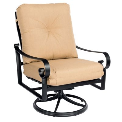 Belden Cushion Big Man's Swivel Rocking Lounge Chair