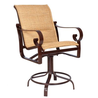 Belden Padded Sling Swivel Counter Stool
