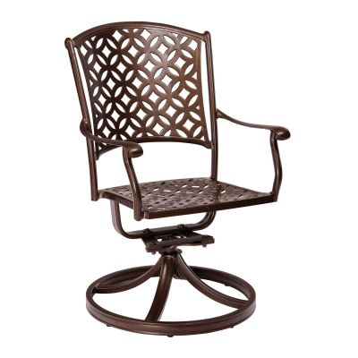 Casa Swivel Rocking Dining Armchair