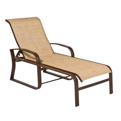 Cayman Isle Sling Adjustable Chaise Lounge