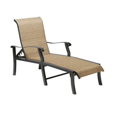 Cortland Sling Adjustable Chaise Lounge