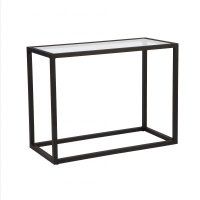 Salona Console Table - Clear Glass
