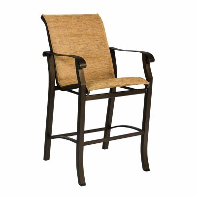 Cortland Padded Sling Stationary Bar Stool