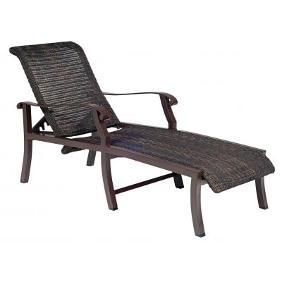 Cortland Woven Adjustable Chaise Lounge