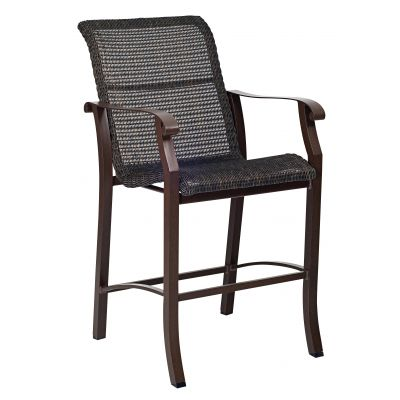 Cortland Woven Stationary Bar Stool