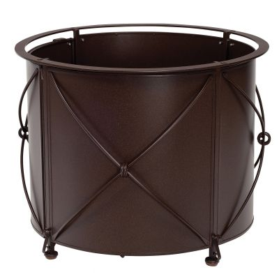 Derby Accented Universal Round Fire Table with Round Burner