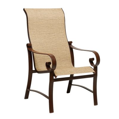 Belden Sling High-Back Dining Armchair
