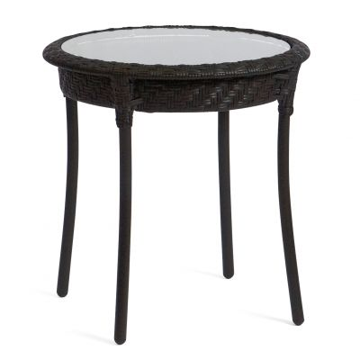"Barlow 22"" Round End Table - Dark Roast"