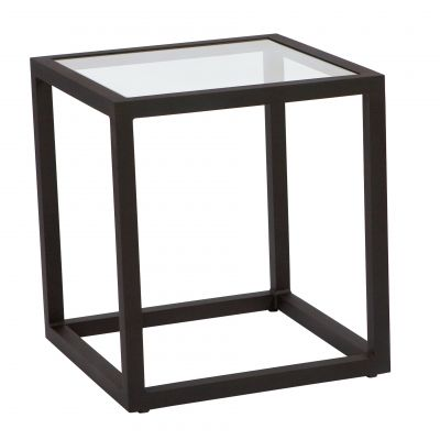 Salona End Table - Clear Glass