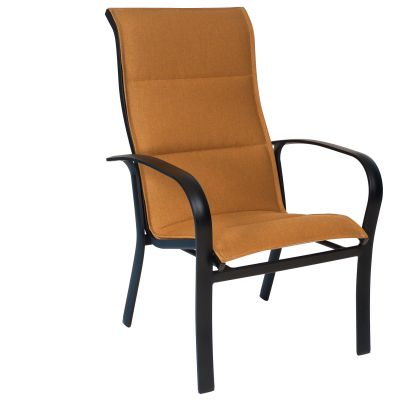 Fremont Padded Sling High-Back Dining Armchair - Stackable