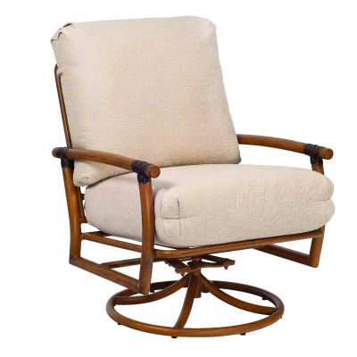 Glade Isle Cushion Swivel Rocking Lounge Chair
