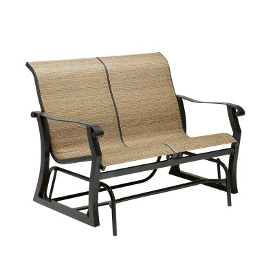 Cortland Sling Gliding Love Seat