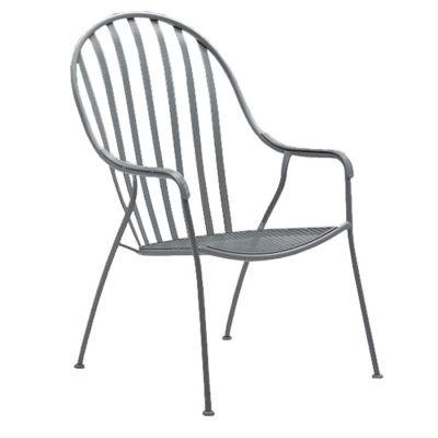 Valencia High-Back Barrel Chair - Stackable