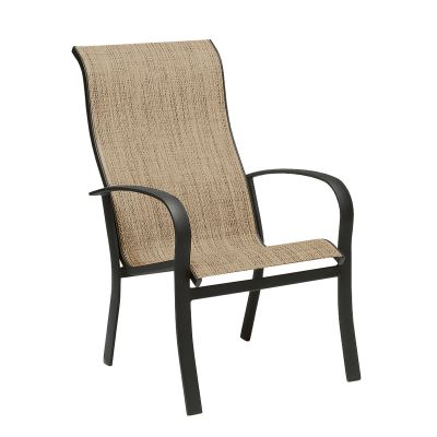 Fremont Sling High-Back Dining Armchair - Stackable