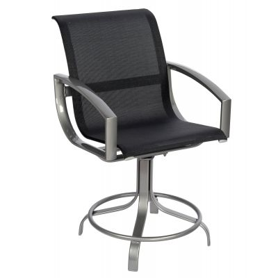 Metropolis Sling Swivel Counter Stool