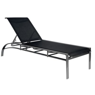 Metropolis Sling Adjustable Chaise Lounge Stackable