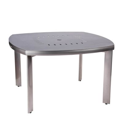 Metropolis Square Round Umbrella Table