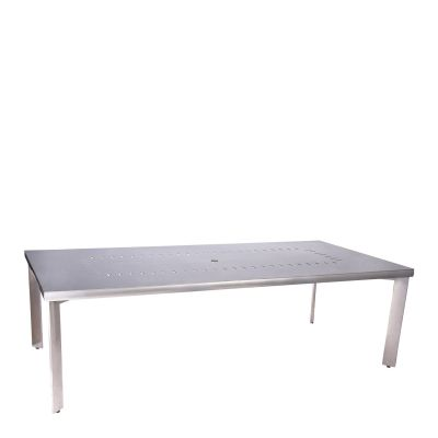 Metropolis Rectangular Umbrella Table