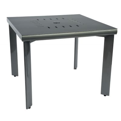 Metropolis Square Umbrella Table