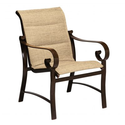 Belden Padded Sling Dining Armchair