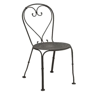 Parisienne Side Chair - Pattern Metal Seat