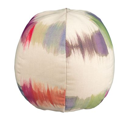 Small Beach Ball Throw Pillow