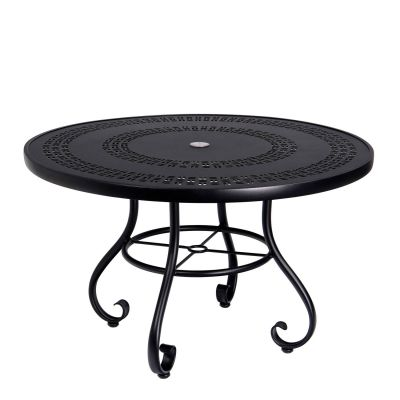 "Ramsgate 48"" Round Umbrella Table - Trellis"