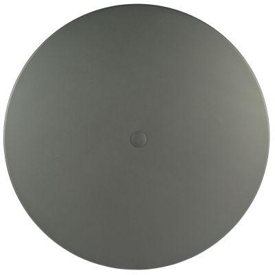 """Solid Aluminum 48"""" Round Umbrella Top Solid Aluminum"""