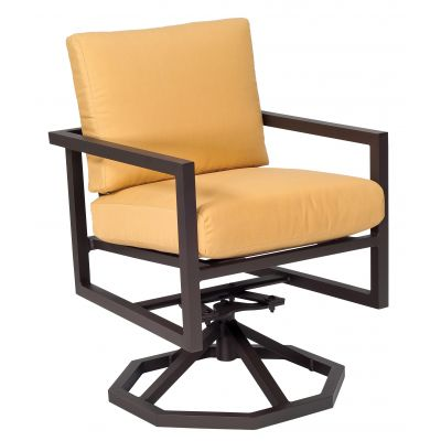Salona Swivel Rocking Dining Armchair