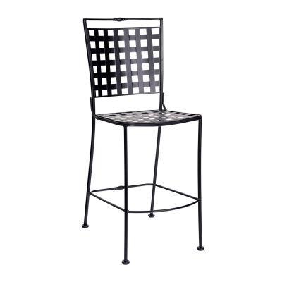 Sheffield Stationary Armless Bar Stool