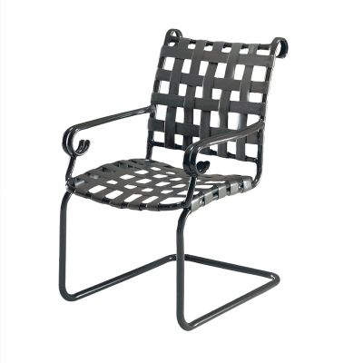 Ramsgate Strap Spring Base Dining Armchair