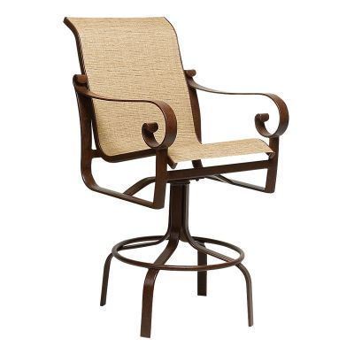 Belden Sling Swivel Bar Stool