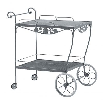 Briarwood Tea Cart - Mesh Top