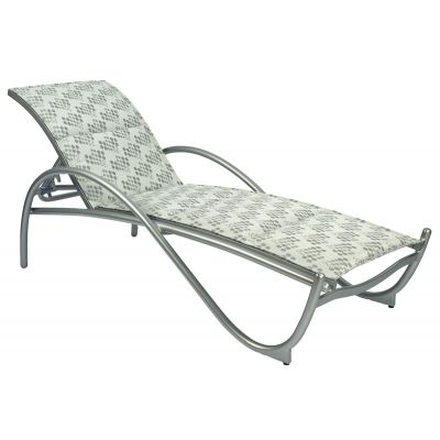 Tribeca Padded Adjustable Chaise Lounge - Stackable