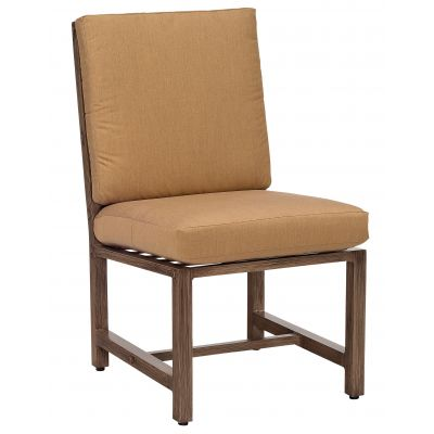 Woodlands Dining Side Chair with Optional Back Cushion