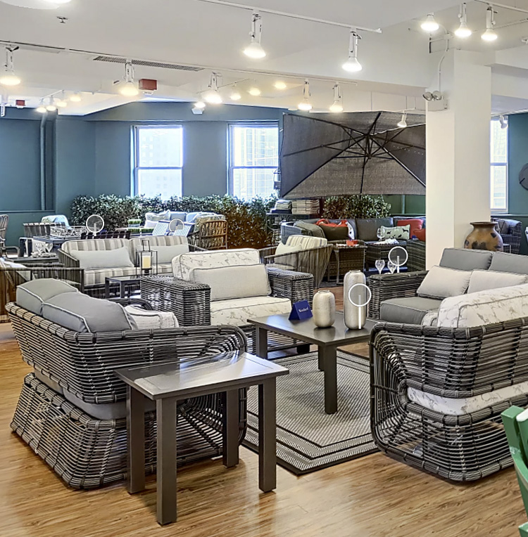 Woodard Chicago Showroom
