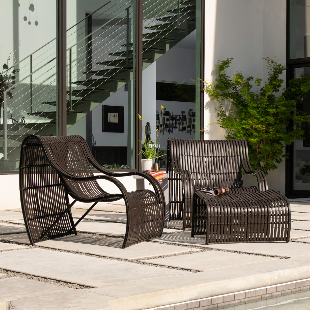Loft Outdoor Furniture Collection by  Woodard