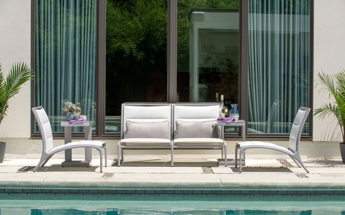 Orion Outdoor Furniture Collection by Woodard