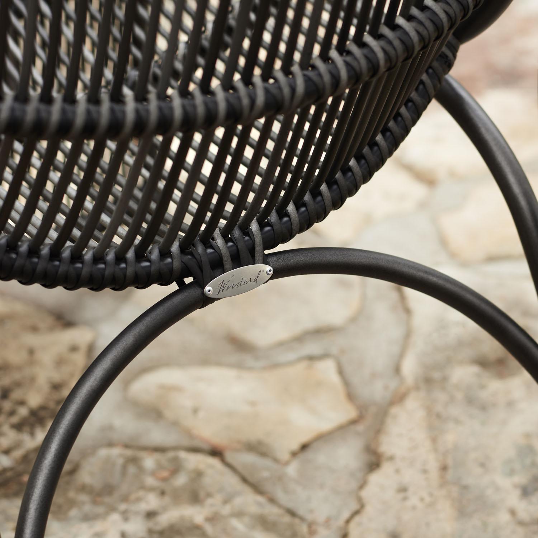 Woodard Canaveral Arm Chair Detail