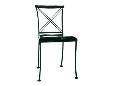 Woodard Wrought Iron Chair #1